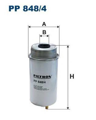 PP8484 Фильтр топливный FORD TRANSIT 2.0/2.4 DI -06
