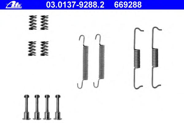 03013792882 Ремкомплект стояночного тормоза AUDI - Q7 (4L) - 4.2 FSI AUDI - Q7 (4L) - 3.0 TDI