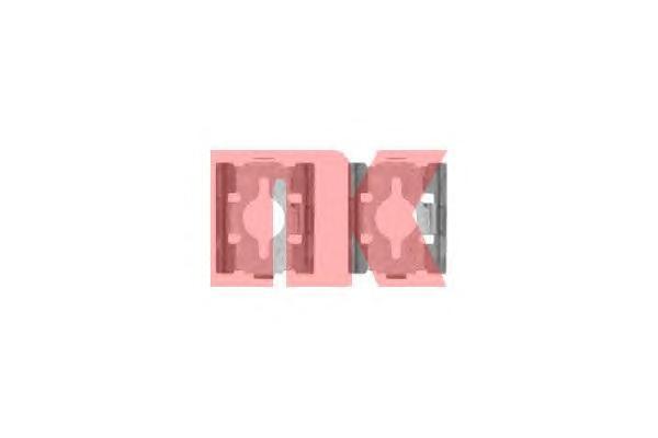 7919600 Пружины прижимные дисковых колодок к-т.FIAT DUCATO 02-06 зад.