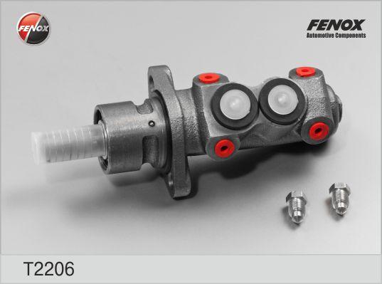 T2206 Цилиндр торм.глав.AUDI 100/80/90/VW PASSAT 1.6-2.3 82-94