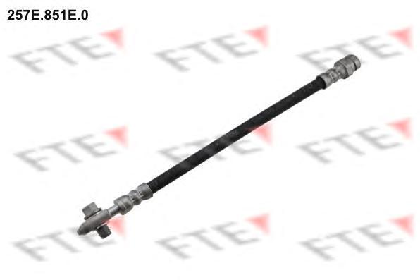 257E851E0 Шланг тормозной Re VAG Tiguan, Q3, Passat