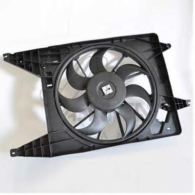30447 Вентилятор радиатора RENAULT LOGAN 08- с кондиционером