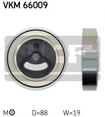 VKM66009 Ролик ремня приводного SUZUKI IGNIS/LIANA 1.3/1.6 01-