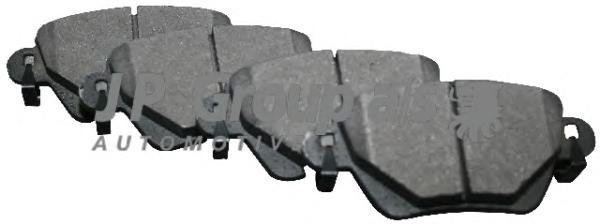1563700210 Колодки тормозные дисковые задние / FORD Mondeo-III ~09/04