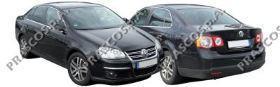 VW5201051 УЦЕНКА! Небольшой дефект! Бампер задний грунтованный / VW Jetta III 08/05~