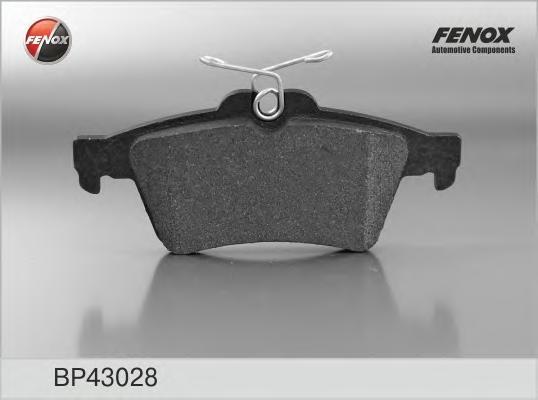 BP43028 Колодки тормозные FORD FOCUS II/III/MAZDA 3/OPEL VECTRA C/VOLVO S40 задние