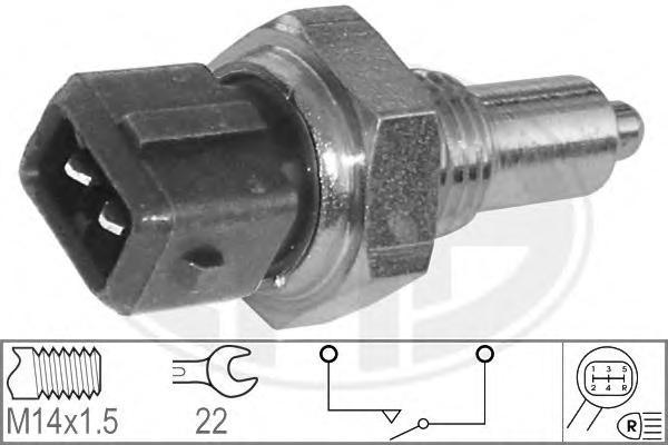 330249 Датчик заднего хода AUDI: 100 (4A, C4) 2.5 TDI 90-94, 100 Avant (4A, C4) 2.5 TDI 90-94, 80 Avant (8C, B4) RS2 quattro (P1