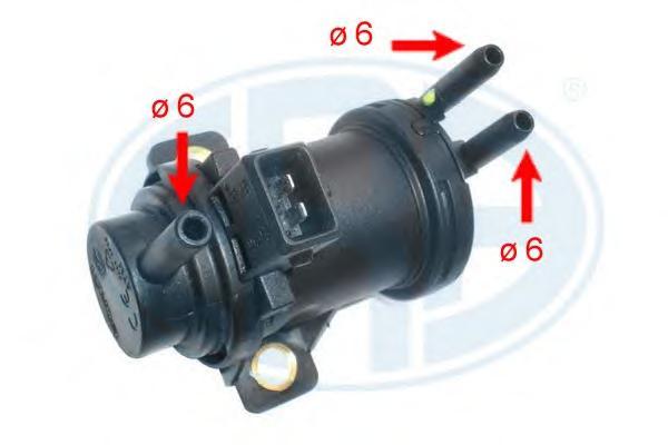 555157 Клапан системы рециркуляции ОГ FIAT DUCATO
