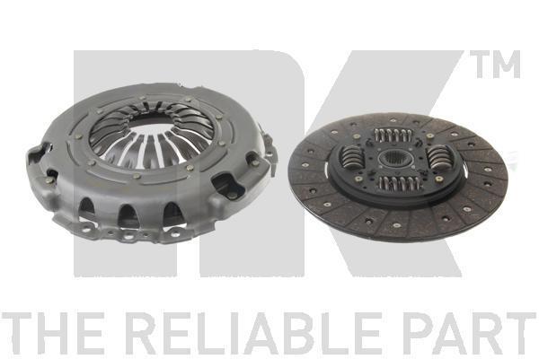 133641 Комплект сцепления / OPEL Movano;Renault Master-II 1,9/2,2/2,5/2,8 D,DTI (242mm) 98~