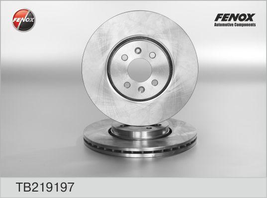 TB219197 Диск тормозной RENAULT SCENIC II/GRAND SCENIC II 1.5-2.0 03- перед. вент.D=300мм