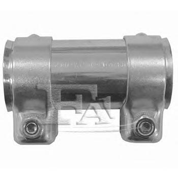 114943 Хомут глушителя соединитель 43/46.7x125мм OPEL: AGILA 00-07  VW: LUPO 98-05