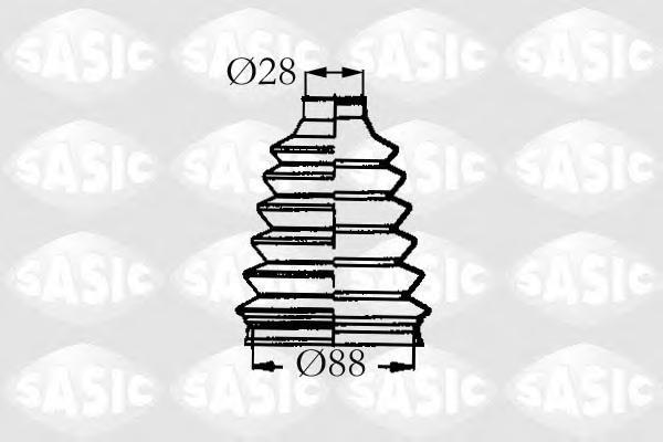 4003455 Пыльник ШРУСа RENAULT LAGUNA/MEGANE/SCENIC 93- нар