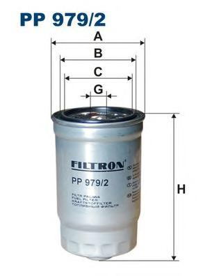 PP9792 Фильтр топливный KIA/HYUNDAI 1.1D-2.5D 03-