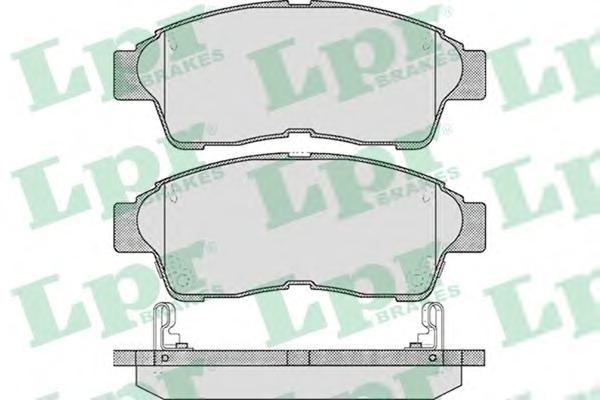 05P561 Колодки тормозные COROLLA 9201/CARINA E 9296/RAV 4 9495 передние