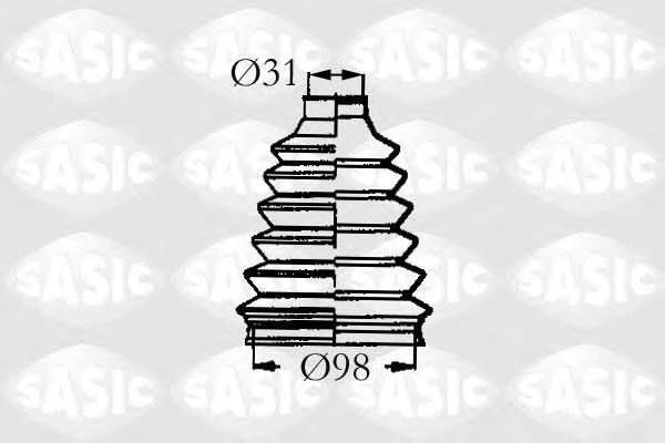 4003466 Пыльник ШРУСа RENAULT MASTER II/ESPACE 98-