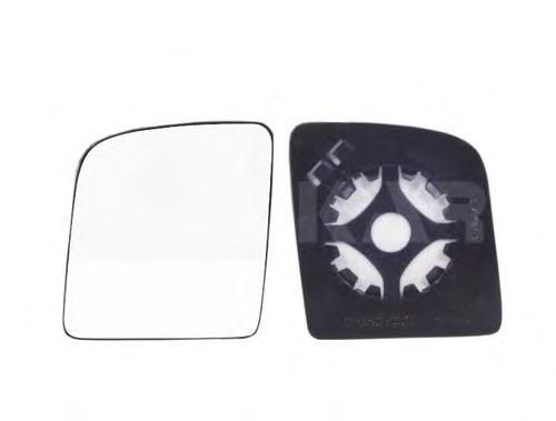 6402390 Стекло зеркала правое, верхнее / FORD Transit Connect 01/02~