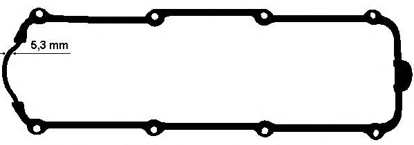 915653 Прокладка клапанной крышки AUDI/VW 1.6-2.0 90-05