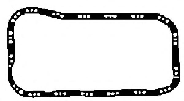 X5400401 Прокладка масляного поддона Fiat Tempra 1.6i/1.8i/2.0i/T 88