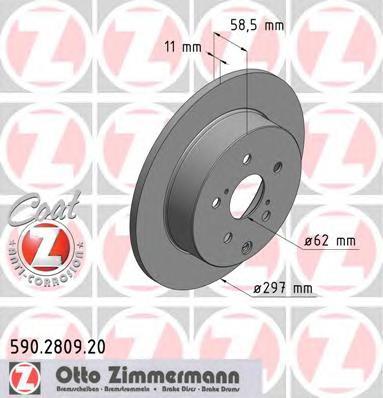 590280920 Тормозной диск
