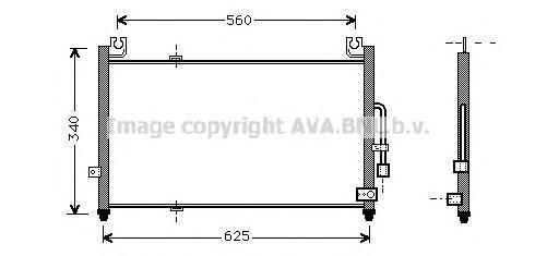 MZ5104 Конденсер MAZDA 323 1.3-1.8/2.0D 94-99