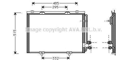 MS5232 Конденсер MB W210 2.0-3.0 D 95-04