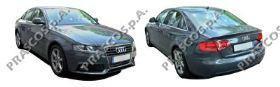 AD0247514 Стекло зеркала левое, плоское с подогревом / AUDI A3, A4, A5, A6, A8, Q3, SKODA Octavia, Superb 08~