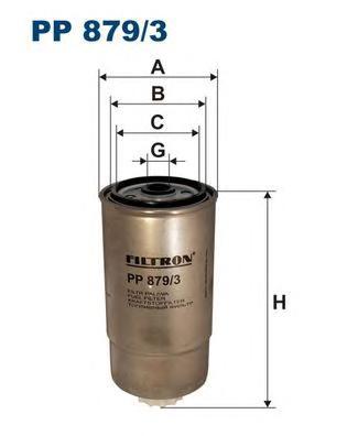 PP8793 Фильтр топливный IVECO DAILY