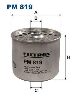 PM819 Фильтр топливный VAG/PEUGEOT/CITROEN/FIAT/SUZUKI/FORD