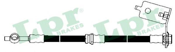 6T48162 Шланг тормозной HYUNDAI SANTA FE (SM) 00-06 задний правый