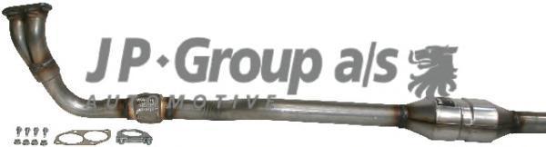 1220300900 Приемная труба (с катализатором) / OPEL Astra-G 1.4/1.6/1.8 XE,XE1,XEL