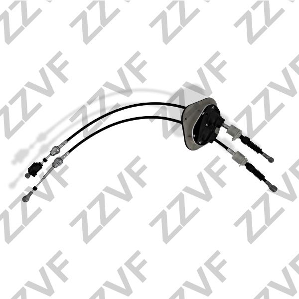 zv2455v9 Трос механизма выбора передач  BOXER- II  JUMPER-II DUCATO-III 00-06