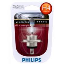 12342VPB1 Лампа H4 VisionPlus 12V 60/55W P43t-38 (blister 1шт.)