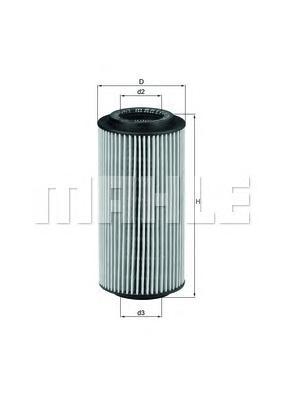 OX179D Фильтр масляный MB W210/211/220 3.2D
