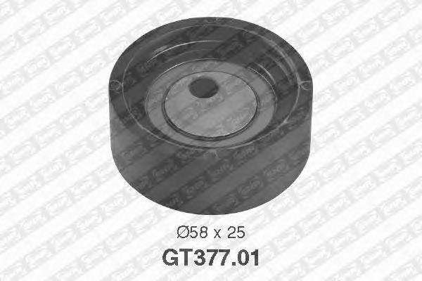 GT37701 Деталь GT377.01_pолик натяжной pемня ГPМ