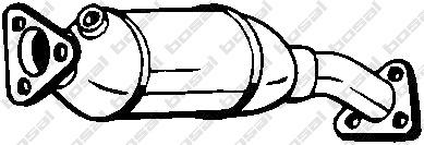 099602 Катализатор AUDI A4 1.6-2.0 98-08/VW PASSAT 1.6-2.0 00-05