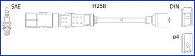 134780 Комплект проводов зажигания
