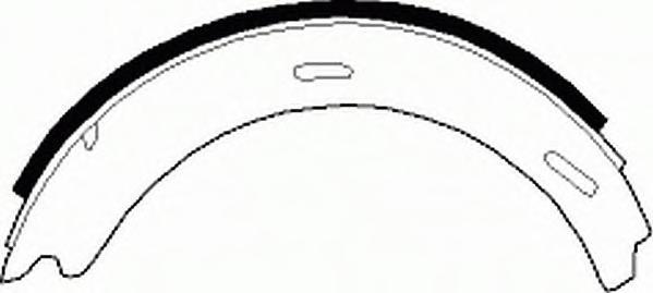 FSB196 Колодки ст.тормоза MB W201/168/245/202/208/124/210/129