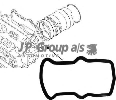1119300300 Прокладка крышки ГБЦ / VW Т2 82~92 1.9/2.2