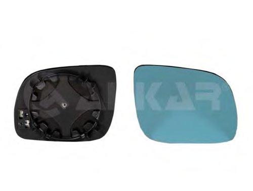 PMG0204G06 Стекло зеркала прав с подогр, выпукл, тониров AUDI: A3 (8L)(1996-00) ,A4 (8D) (1995-00) ,A6 (4A/C4)(1994-97), A8(1994