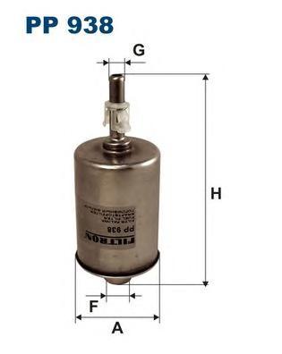 PP938 Фильтр топливный OPEL SINTRA 2.2/3.0 -99