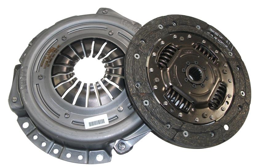 1744565 Комплект сцепления, без выжимного подшипника / FORD Fiesta-V,Fusion;MAZDA-2 1.25/1.3/1.4 (190mm) 01~
