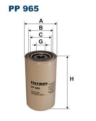 PP965 Фильтр топливный DAF 95XF -02