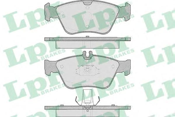 05P409 Колодки тормозные MERCEDES W210/W202/C208 2.0-2.8 передние