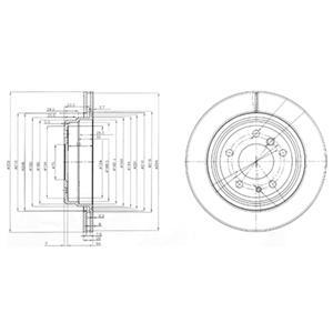 BG3214 Тормозной диск 2шт в упаковке