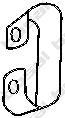 251235 Крепление глушителя VW TRANSPORTER 1.9-2.5 90-03