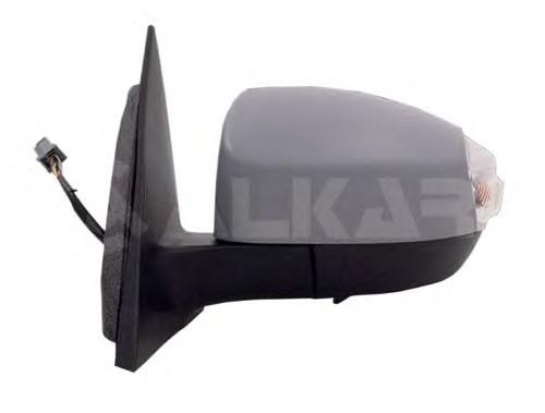 9260375 Зеркало в сборе с электроприводом правое с указателем поворотов+подсветка / FORD S-Max 06~
