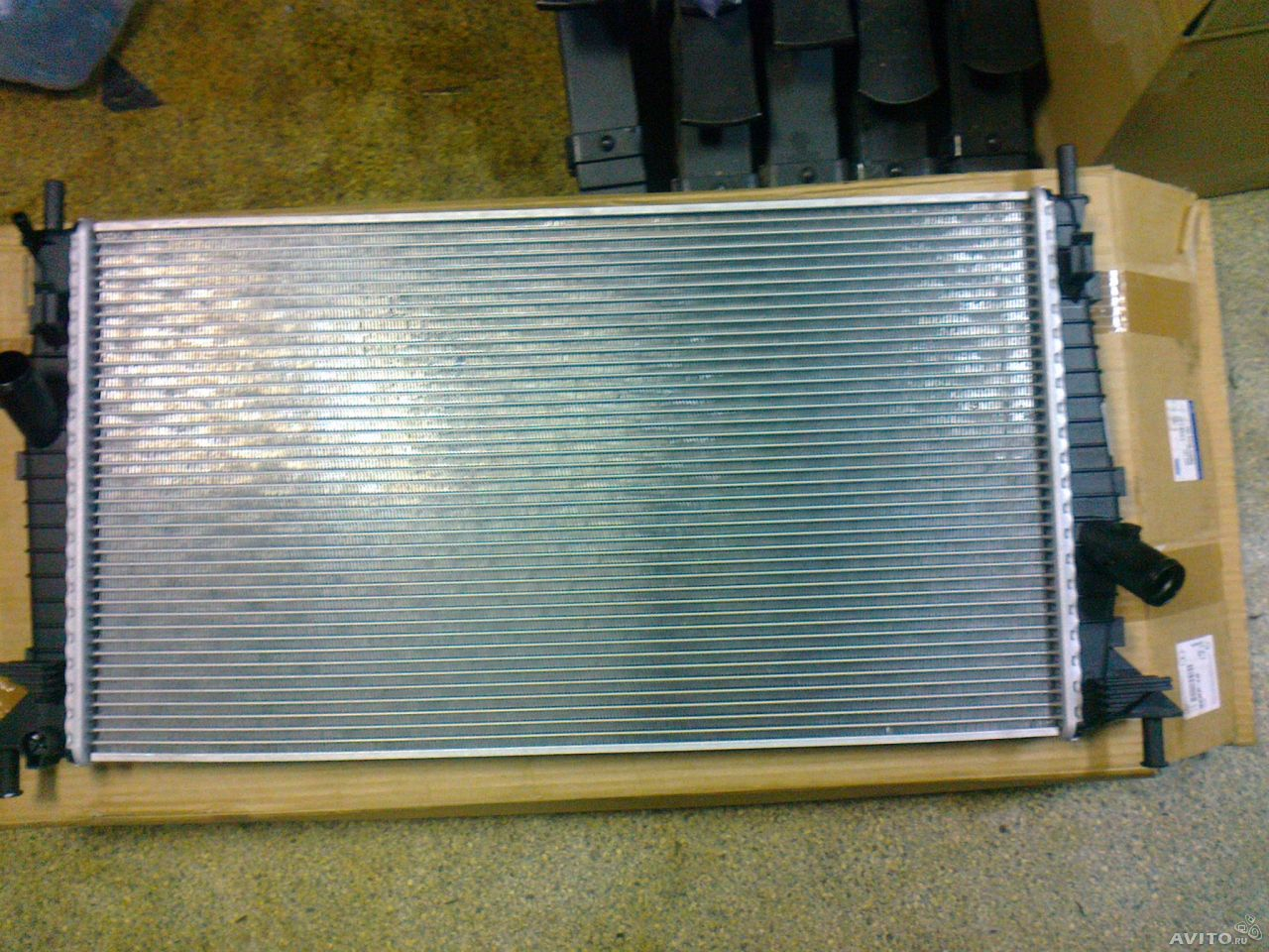 1354177 Радиатор охлаждения Фокус II  DURATEC 1.4 : 1.6 : 1.8