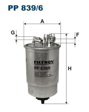 PP8396 Фильтр топливный FORD GALAXY/VW SHARAN 1.9 TDI