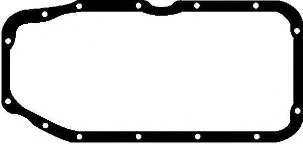 X0820401 Прокладка масляного поддона Opel Astra, Vectra 1.6-1.8/1.6D/1.7D/TD 81