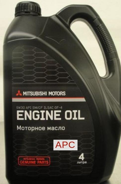 MZ320757 Масло моторное MITSUBISHI 5W30 API SM/CF (4л)